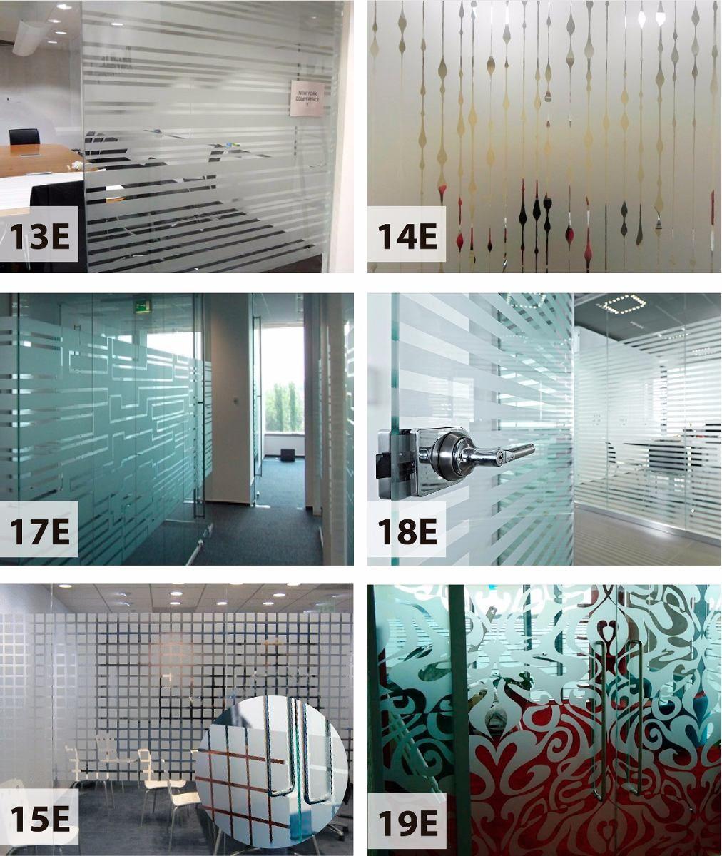 Esmerilados dise os oficina ventanas vidrieras home for Diseno vinilos