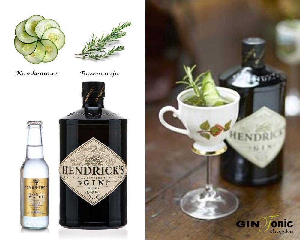 Hendrick's Gin Tonic Classic Recipe