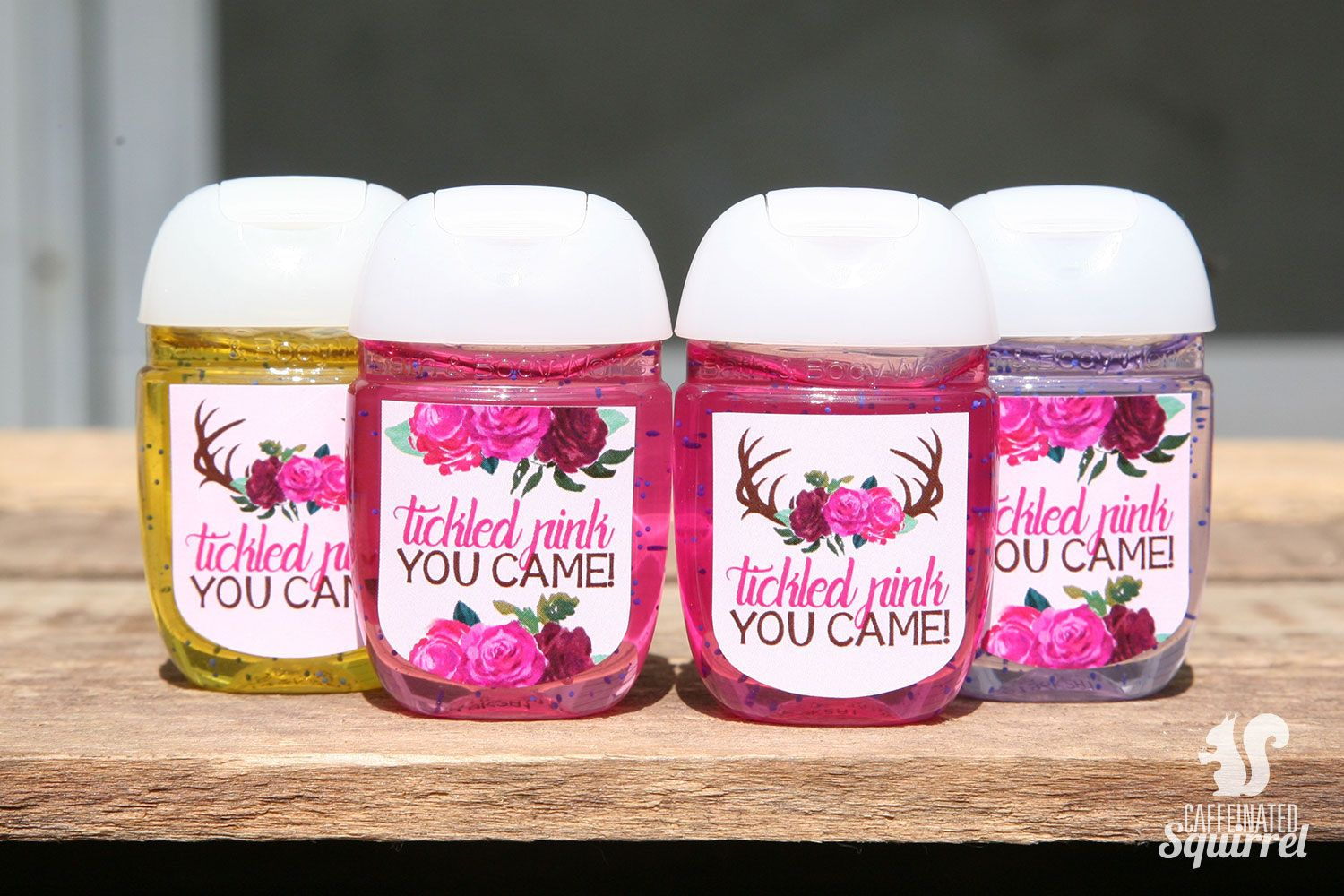 Tickled Pink You Came Sanitizer Labels Perfect For Baby