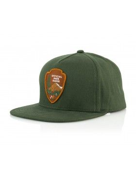 25c61bc11be Official Cap Park Ranger Snapback - green
