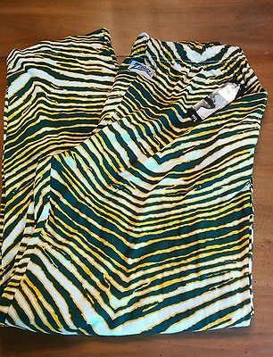 Official Nfl Green Bay Packers Mens Xl Zubaz Pants Athletic Aaron Rodgers Nwt Nfl Green Bay Green Bay Packers Mens Xl