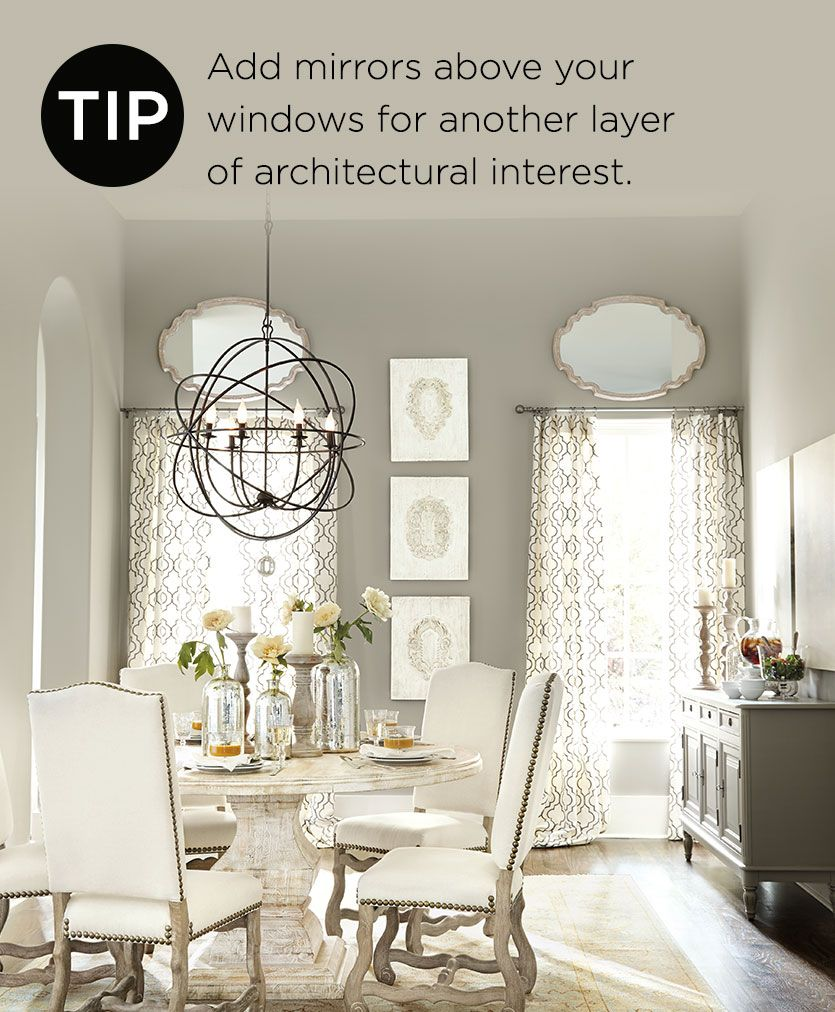 Decorating With Mirrors In Dining Room: Decorating Tips From Our Spring 2014 Catalog