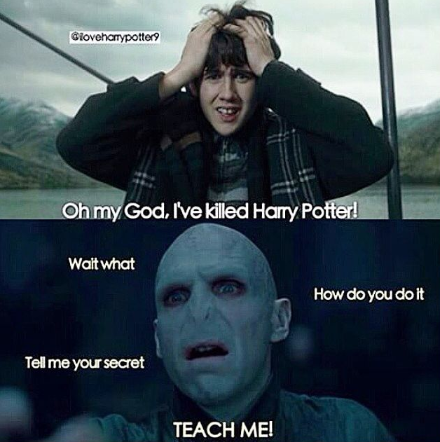 Neville Longbottom Thinks He Killed Harry Potter In Goblet Of Fire Voldemort Demands Answers Harry Potter Puns Harry Potter Jokes Funny Harry Potter Jokes
