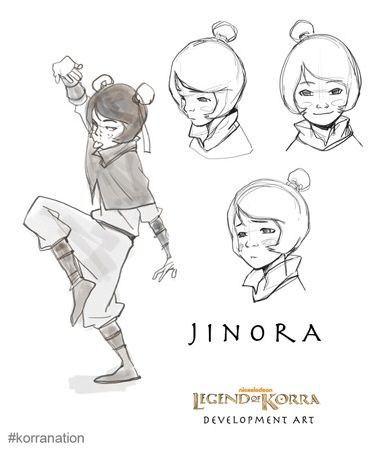 Legend Of Korra Development Art Release of a character sketch from ...