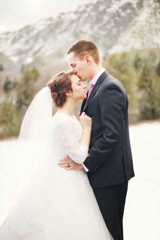 Wedding pics taken in Provo Canyon.