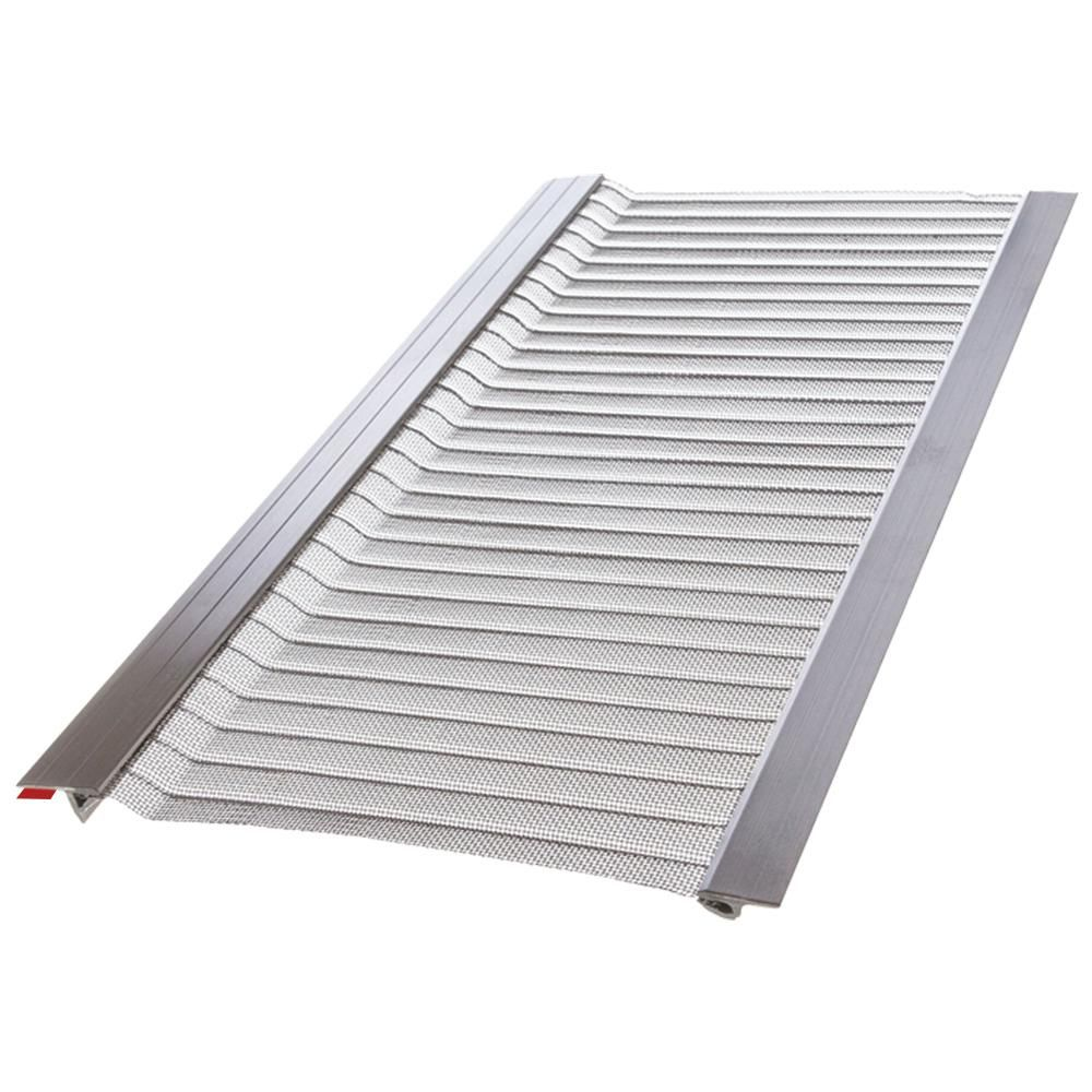 Gutter Guard By Gutterglove 4 Ft L X 5 In W Stainless Steel Micro Mesh Gutter Guard 20 Pack Thd80 The Home Depot In 2020 Gutter Guard Gutter Gutter Protection