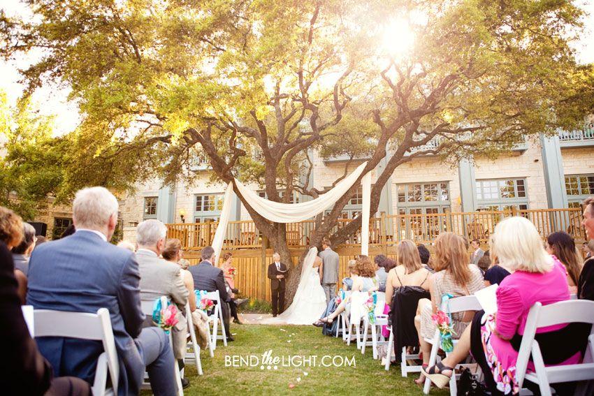 Annie Matt Hyatt Regency Hill Country Resort Wedding Ceremony Reception Outdoor Venueswedding