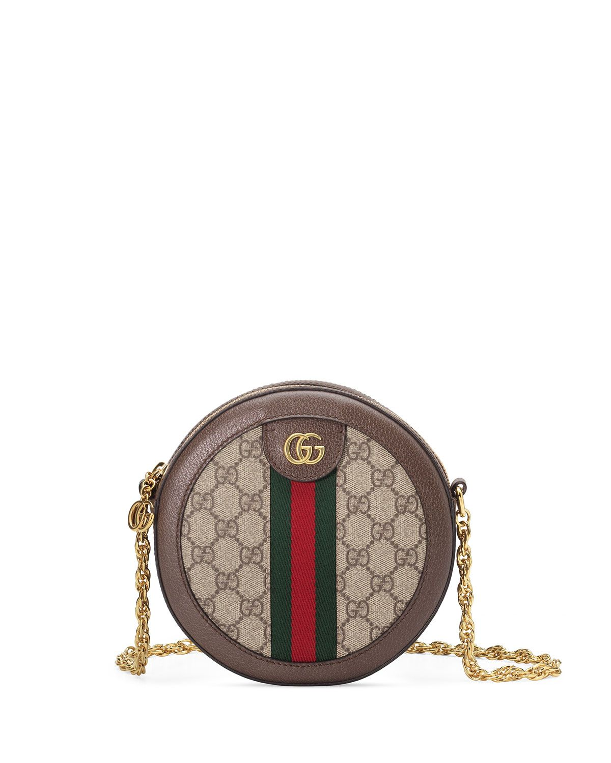 1771430f00a GUCCI - OPHIDIA MINI GG ROUND SHOULDER BAG | Trends 2019 in 2019 ...