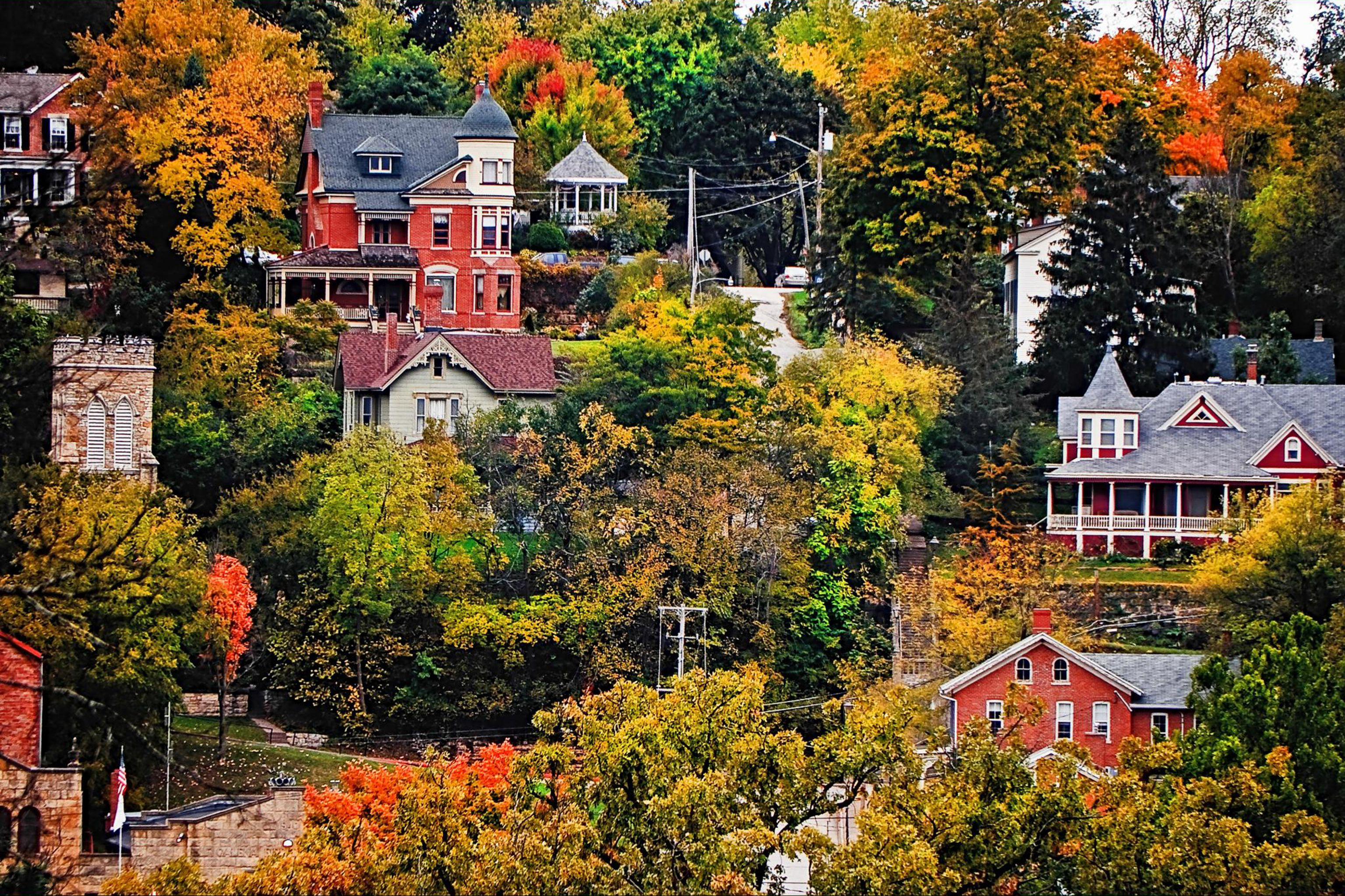 The 50 most beautiful small towns in america civil wars Best small town to live