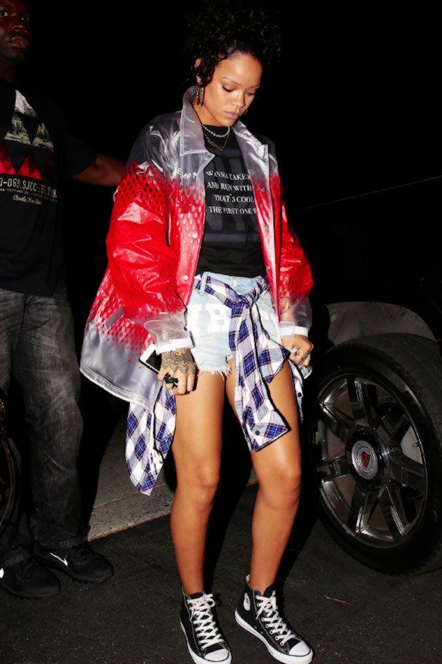 6f9dadf4ce9f Rihanna wearing  Converse Chuck Taylor All Star