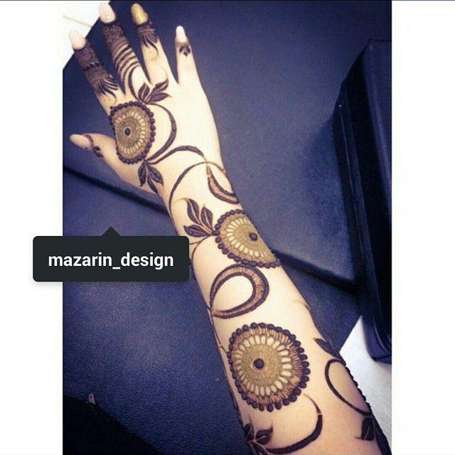 See This Instagram Photo By Mazarin Design 2 883 Likes Unique Mehndi Designs Henna Designs Hand New Mehndi Designs