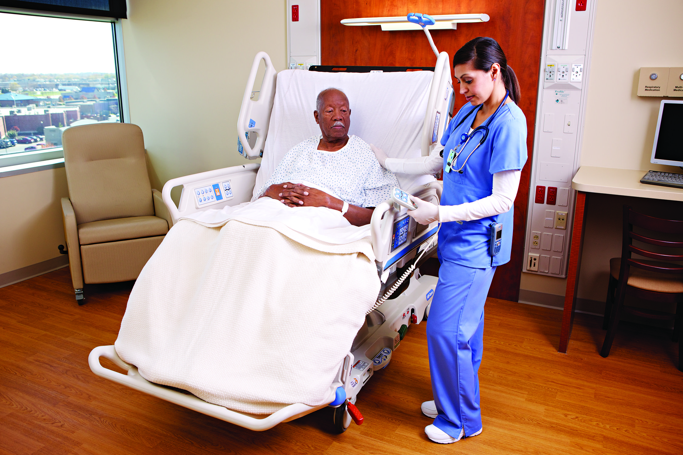 Hill Rom Advance Bed Bed, Hospital bed, Outdoor bed