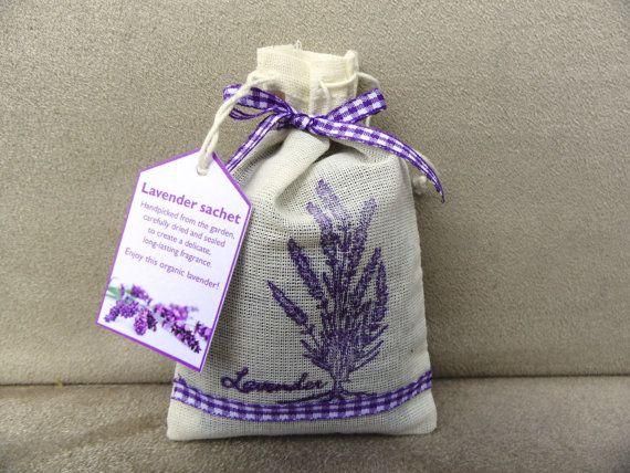 Guest Blogger Week 93 ~ Lavender Beeswax ~ Crochet Addict UK ~ http://www.crochetaddictuk.com/2013/12/guest-blogger-week-93-lavender-beeswax.html ~ Large organic lavender sachet in muslin bag, hand-made - Christmas gift, stocking filler