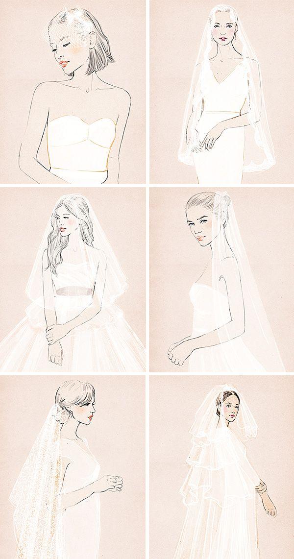 0a57c3b49 Diferentes estilos de velos de novia