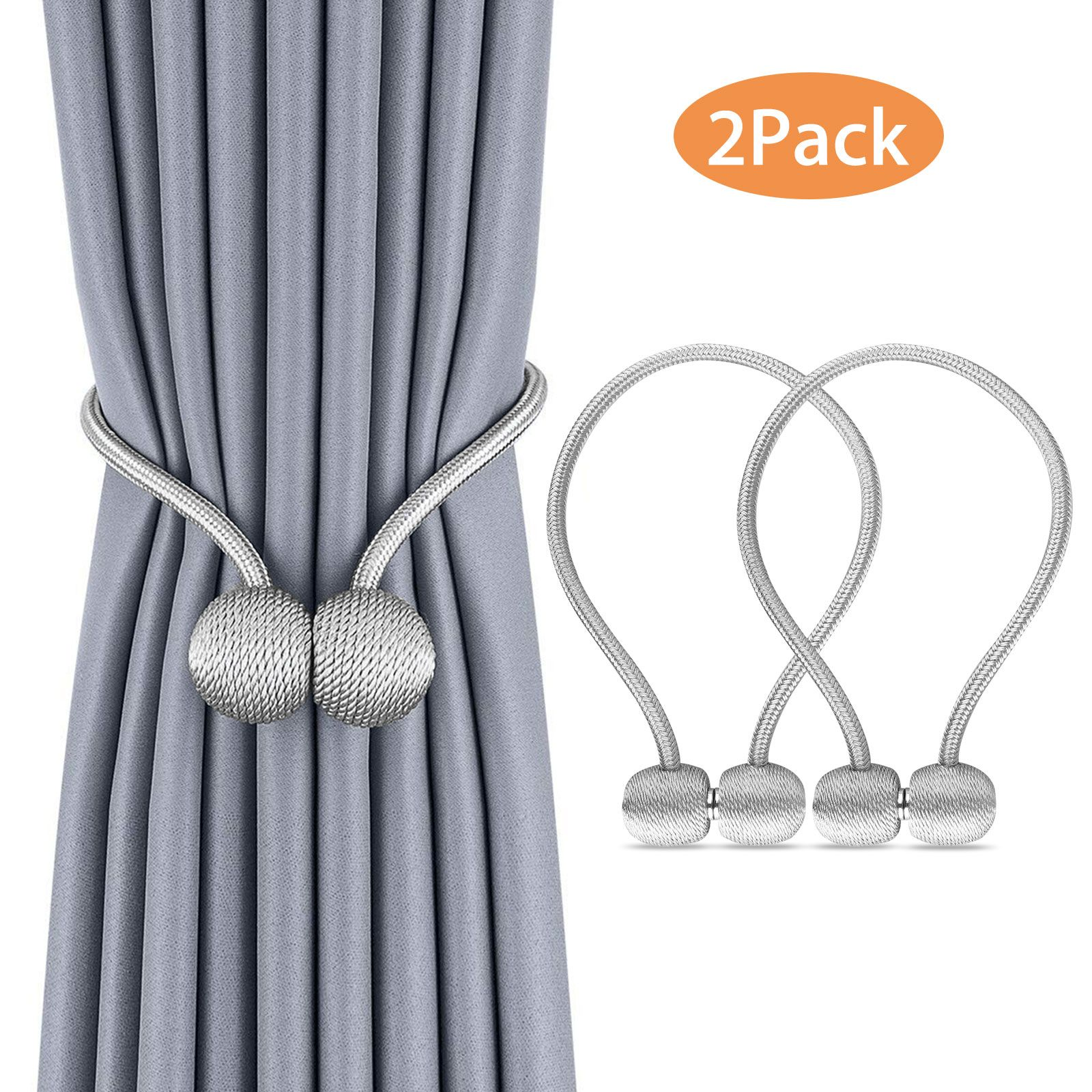 Home With Images Curtain Tie Backs Magnetic Curtain Curtains