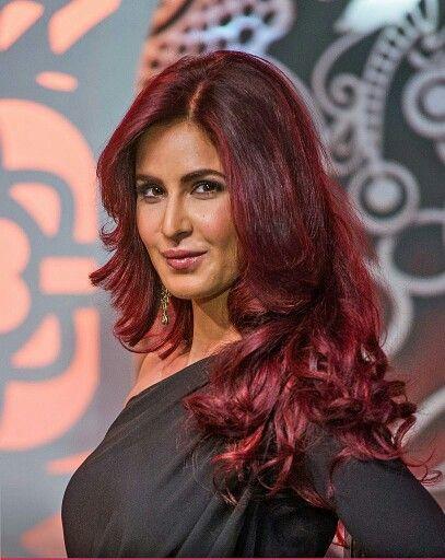 Red Hair Katrina Kaif Hot Pics Katrina Kaif Photo Deepika Padukone Hair Color