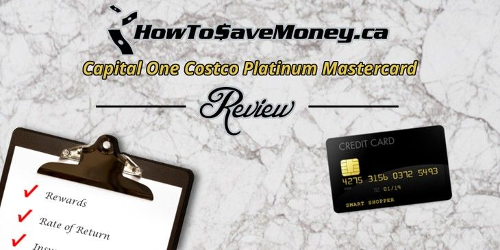 Capital One Costco Platinum Mastercard Review Secure Credit Card