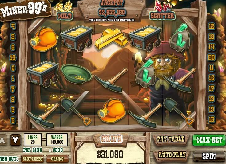 90,000 Free DoubleDown Casino chips offer New Miner 99