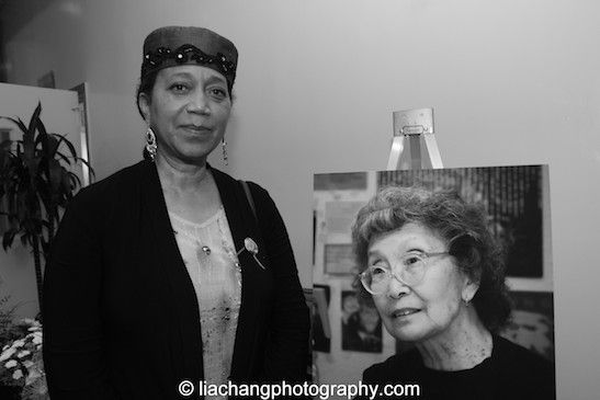 Photos and Video of Yuri Kochiyama Memorial at First Corinthian Baptist Church in Harlem on 9/27/14, featuring excerpts of performances by Soh Daiko, Pua Ali'i 'llima o Nuioka, Janice Robinson, Tai...
