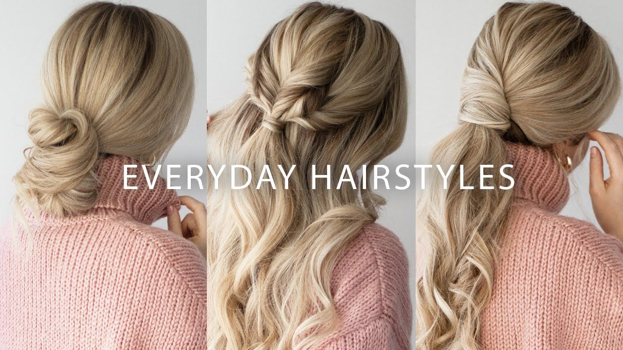 Sweater Weather Hairstyles Easy Hairstyles For Long Medium Hair Medium Hair Styles Easy Hairstyles Hair Styles