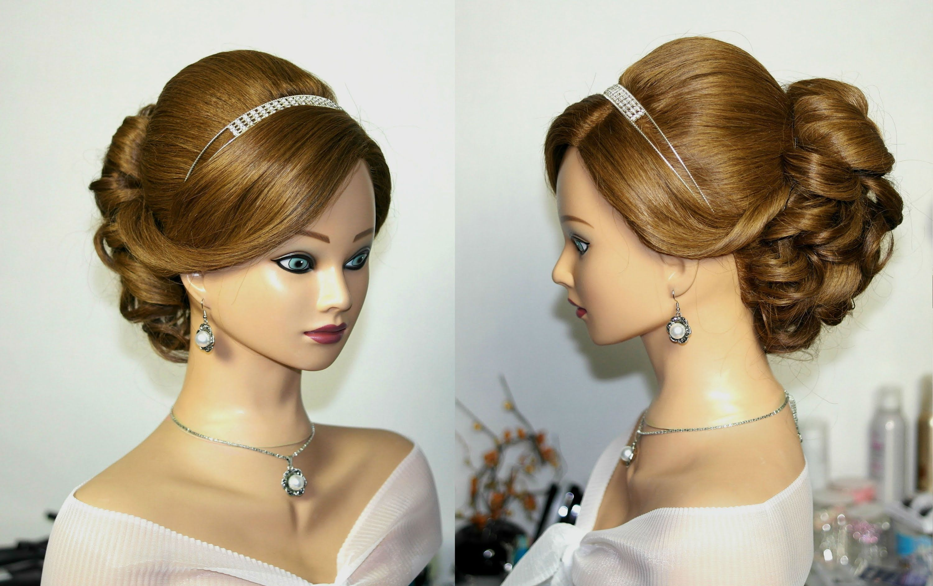 Beauty Tips Bridal And Wedding Hairstyles For Long Or: Wedding Prom Hairstyles For Long Hair. Свадебная прическа