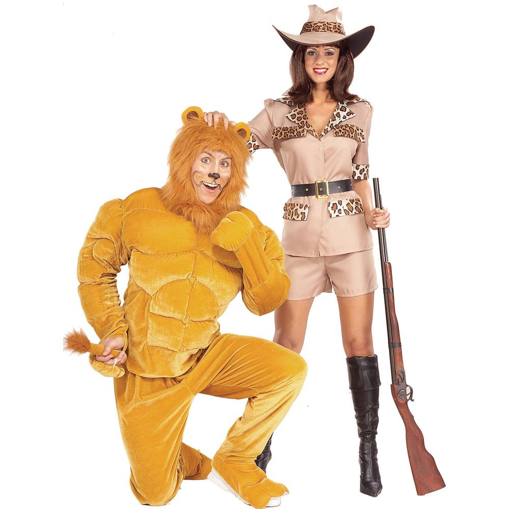 Details about Safari So Goodie (Female) Adult Costume lion tamer ...