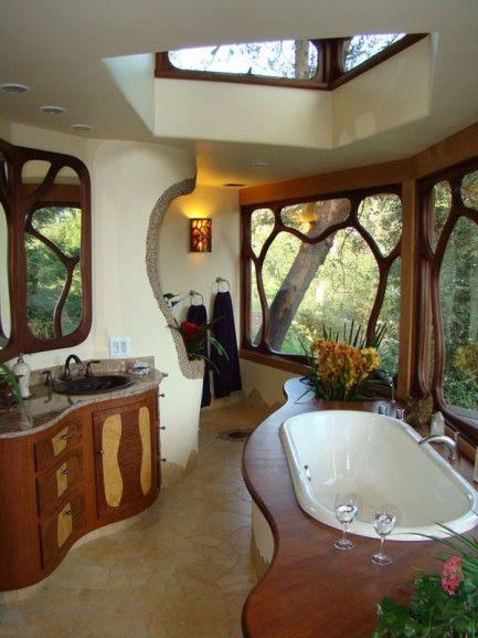 von organischen formen inspiriertes bad bathroom inspo pinterest haus badezimmer und zuhause. Black Bedroom Furniture Sets. Home Design Ideas