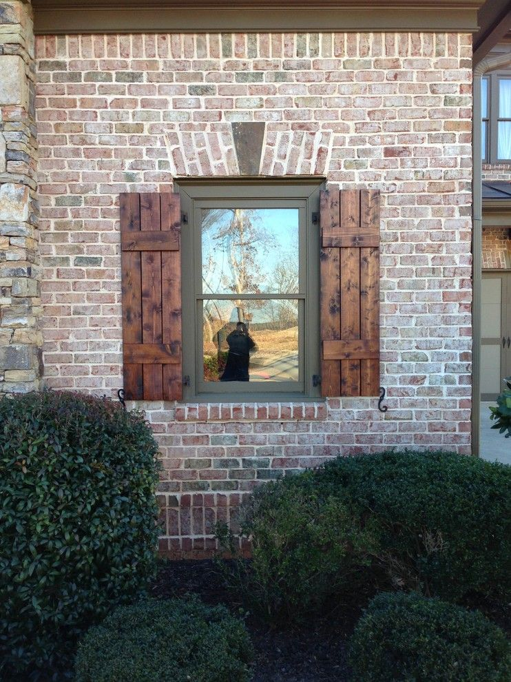 Craftsman Style Shutters Exterior Craftsman with Board and Batten ...