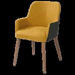 Stoel Egon is een bijzonder leuke kuipstoel. Deze eetkamer stoel is ...