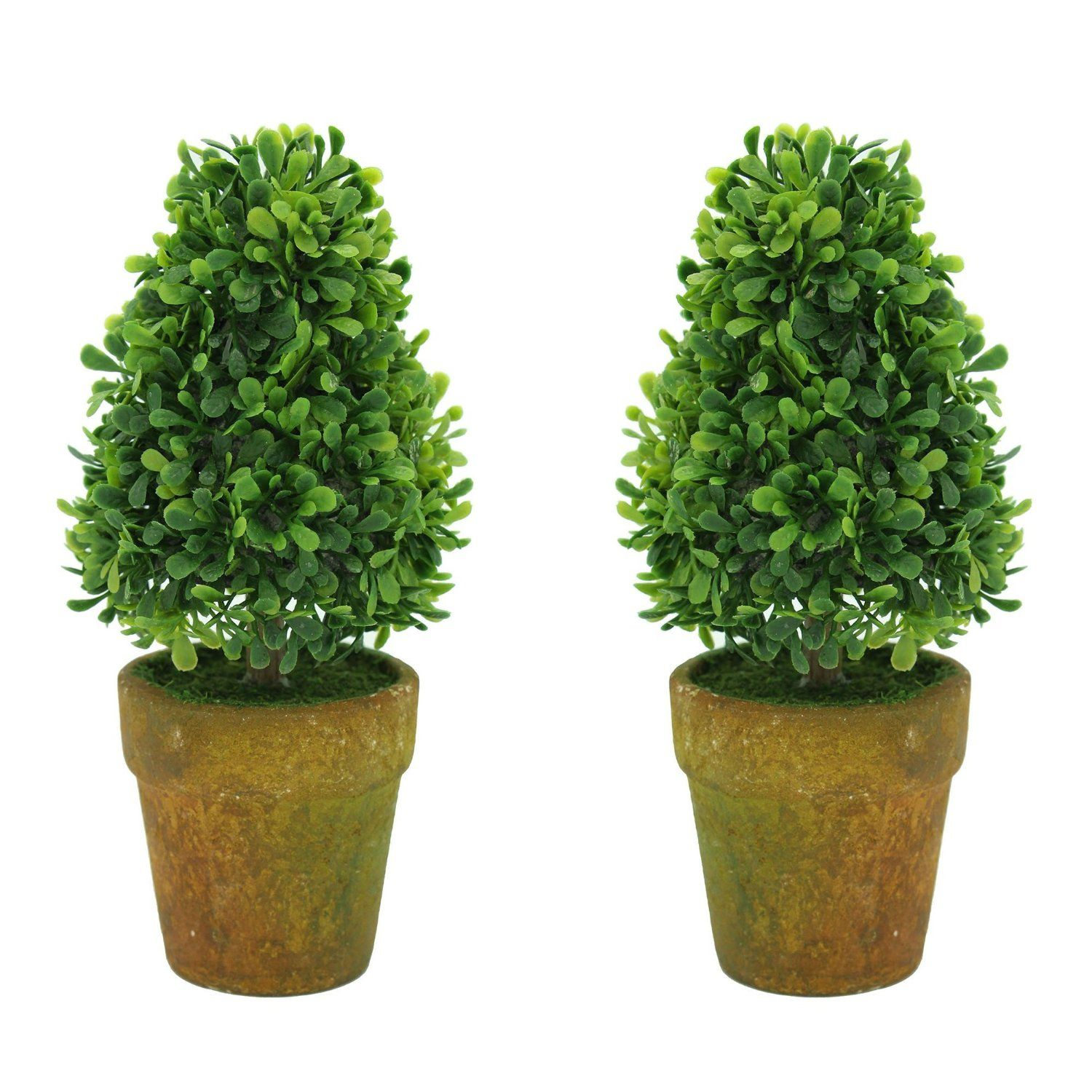 Keelorn Cute Tower Shape Greenery Artificial Plants and Trees , Decor Bonsai for Office , Home Decorations , Desks and Tables Decor ( Set of 2 , 6 Inches , Green ) >>> Want to know more, click on the image.