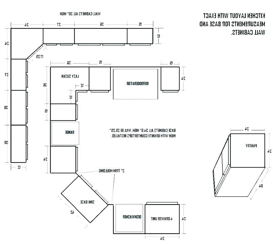 standard kitchen cabinet dimension standard cabinet widths ...