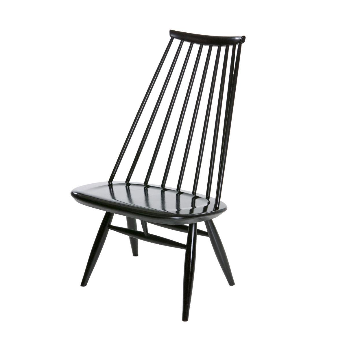 Artek Mademoiselle Klubsessel Schwarz Lackiert Sessel Stuhl Design Stuhle
