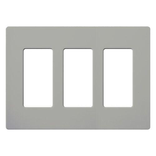 Lutron Cw 3 Plates On Wall Wall Boxes Decor