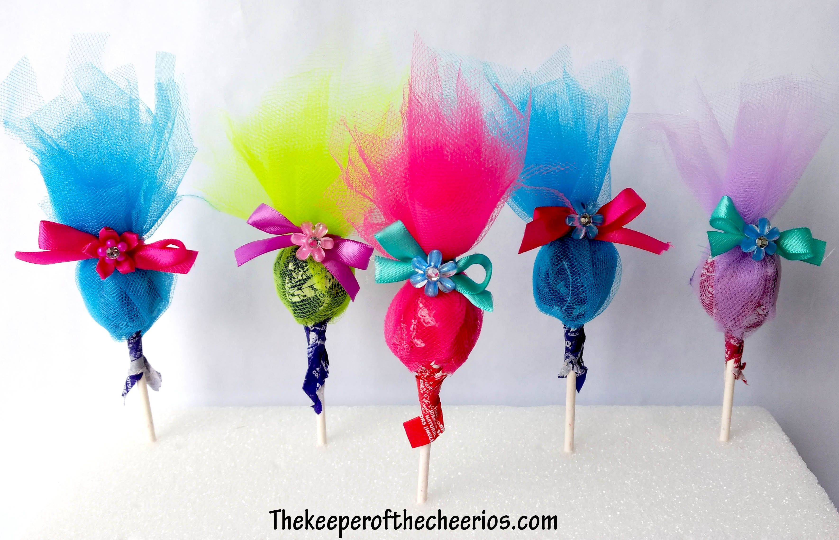 Trolls Party Favor Ideas Trolls Movie Themed Birthday