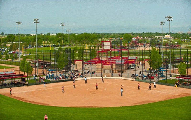 Aurora Sports Park Aurora Colorado Baseball and Softball