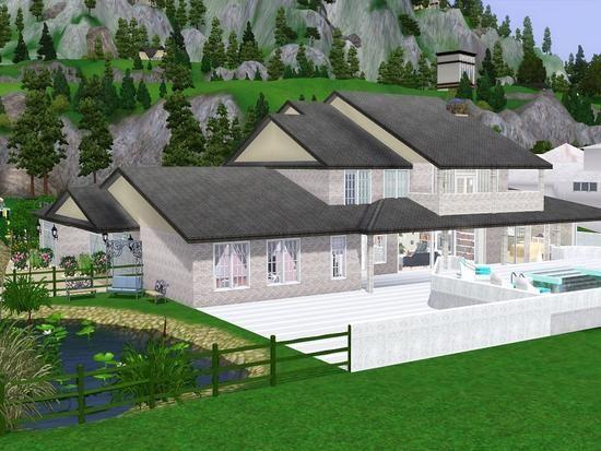 Ella47 S Villa Linda Sims House Beautiful Villas House Styles