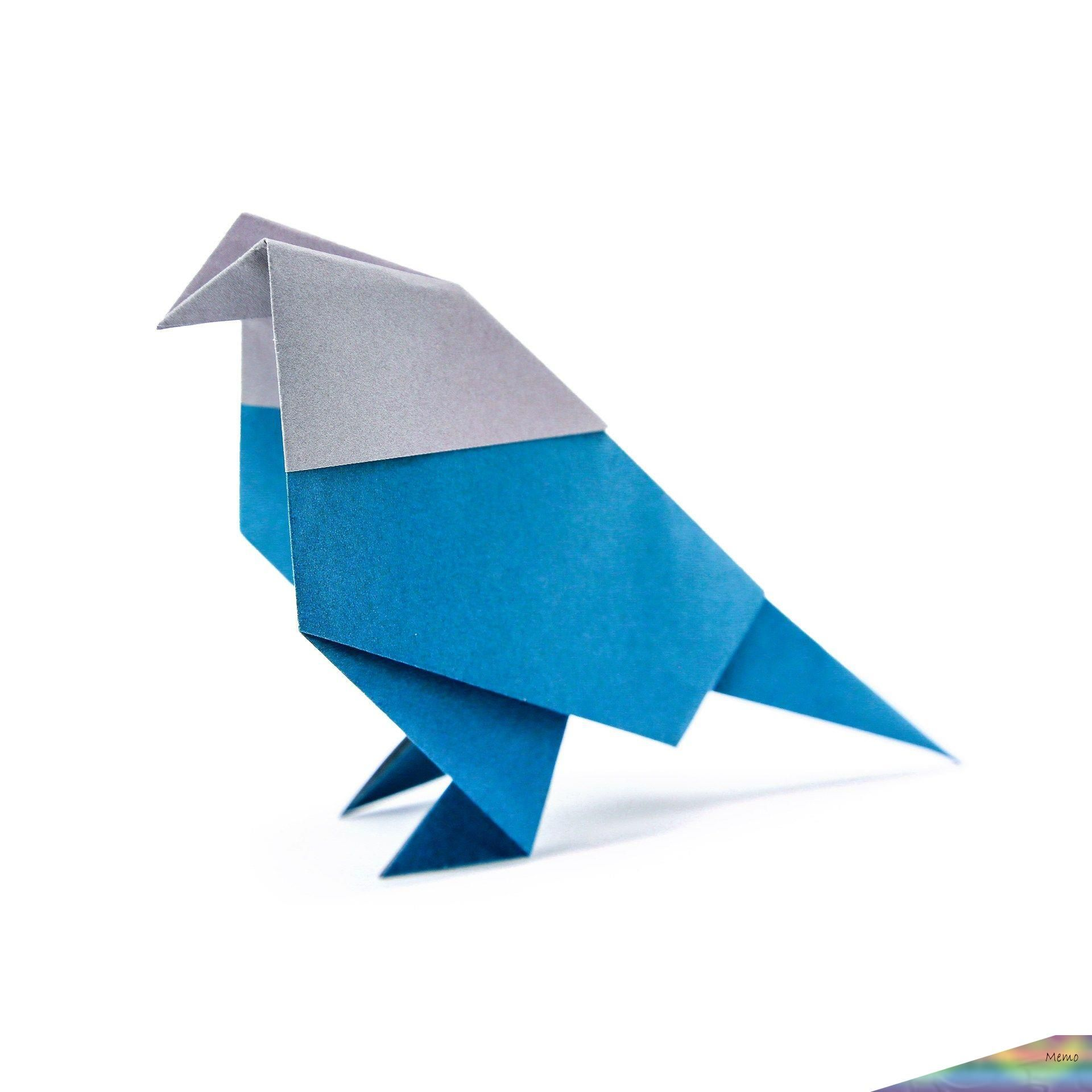 Learn How To Fold An Origami Bird Using This Step By Step