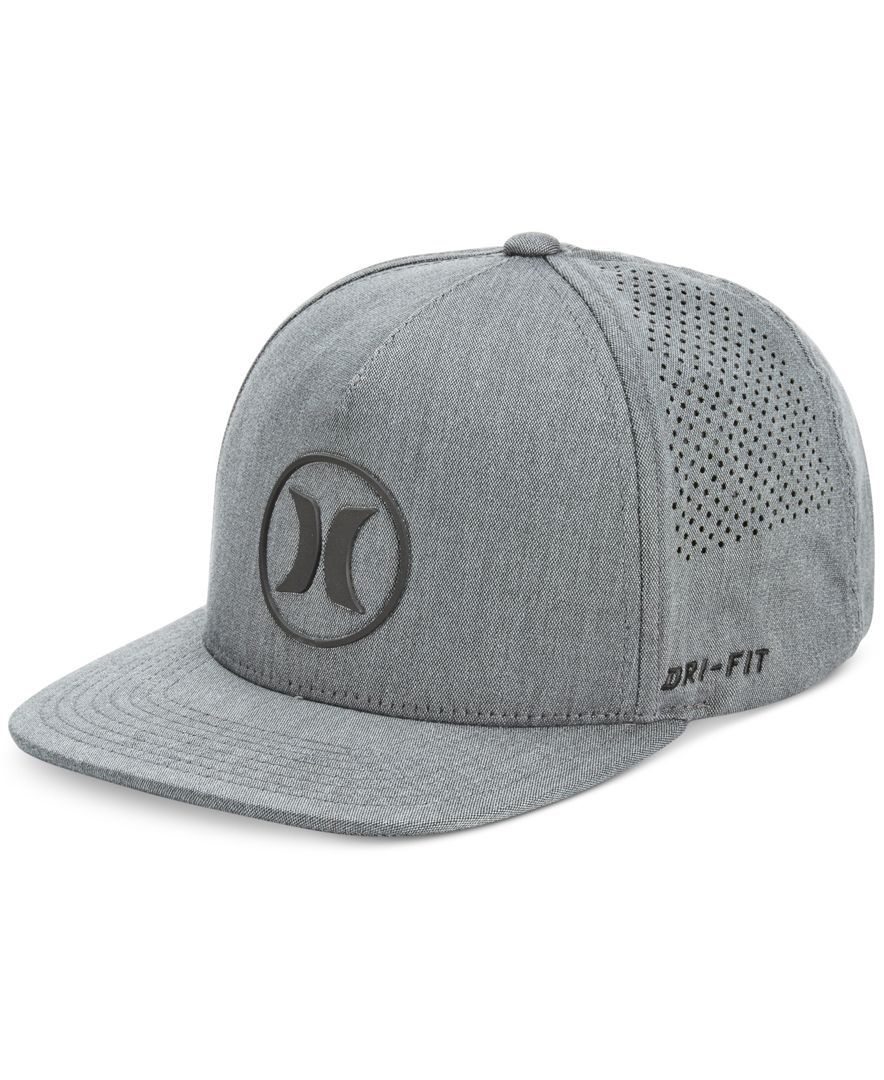Hurley Men s Dri-Fit Icon 2.0 Perforated Logo Hat  585057fb0b2