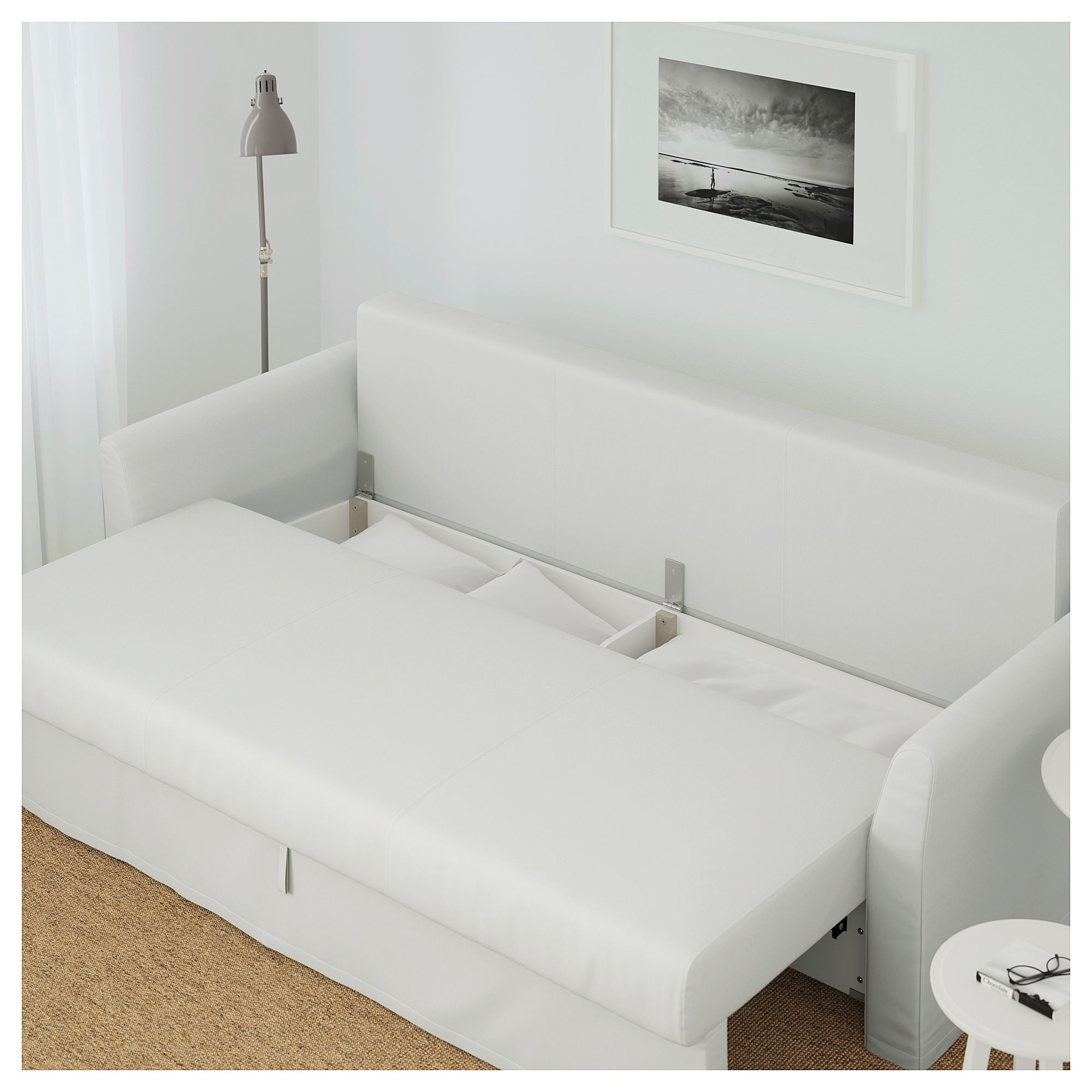 Holmsund Sleeper Sofa Orrsta Light White Gray In 2019 Products