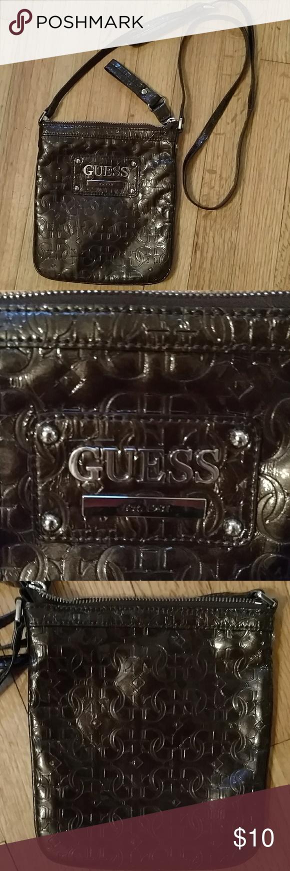 ... poshmark fashion shopping  Guess bag Guess bags, Chocolate brown and  Crossbody bags quality design c77aa 6b17e ... 06769f59fc