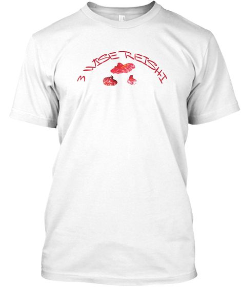 3 Wise Reishi Mushroom Tee Fungi T Shirt | Mushroom Hunters Delight