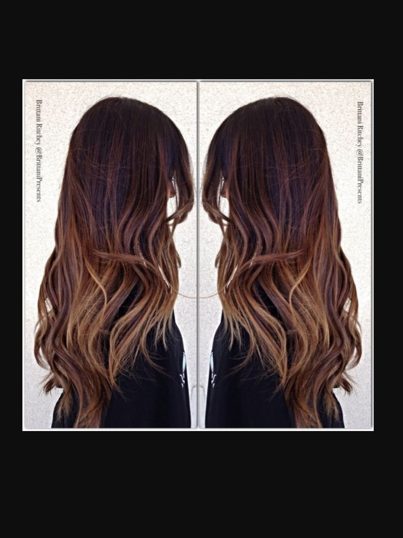 Pin by Kiaira Glover on Variegated Color: Brown (With images)   Hair styles, Hair, Long hair styles