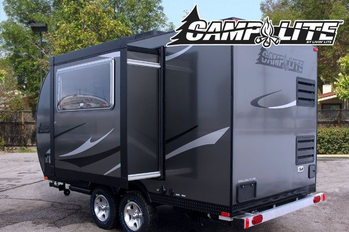 Camplite 14dbs All Aluminum Automotive Travel Trailer Overview
