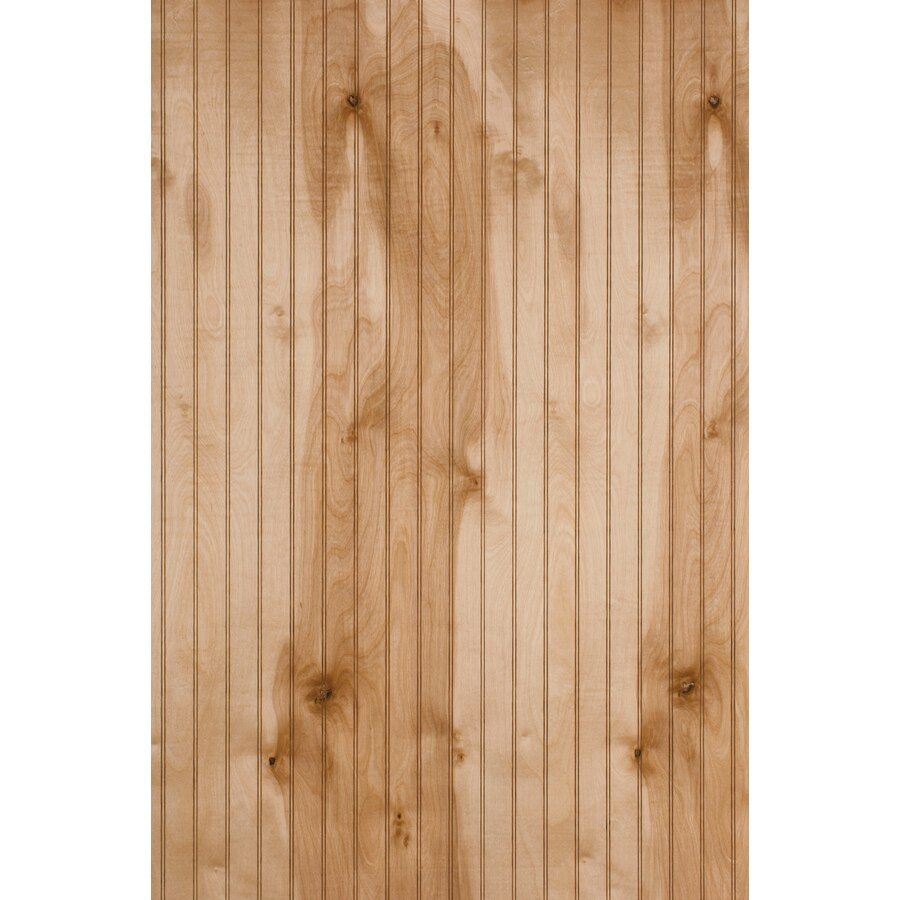 47 9687 In X 7 997 Ft Beaded Ann Arbor Birch Wall Panel At Lowes Com In 2020 Wooden Wall Panels Wall Paneling Wood Panel Walls