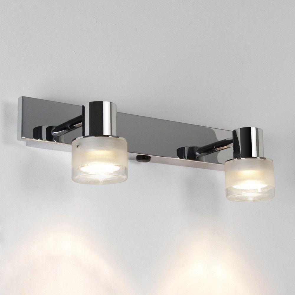Strahler Tokai In Chrom 2 Flammig Gu10 Ip44 In 2020 Badezimmerspiegel Beleuchtung Badezimmer Licht Und Wandleuchte