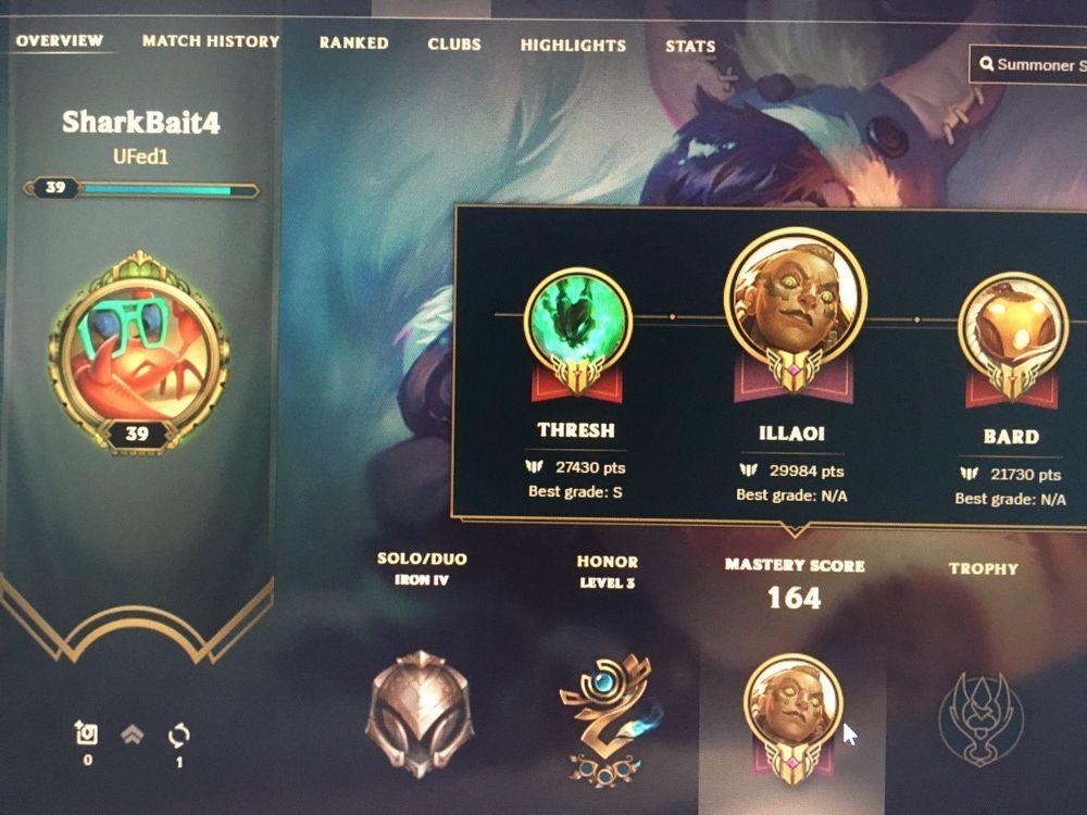 ac12d46c8af7006f65c37e6a613d7bf1 - How To Get Honor Level 3 League Of Legends