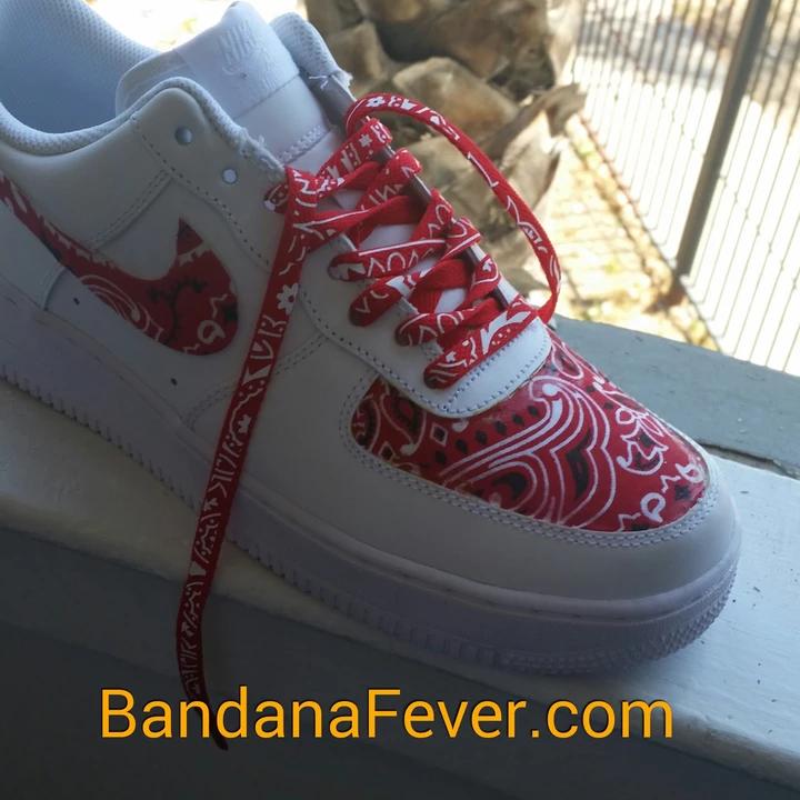 Custom Bandana Nike Air Force 1 Low