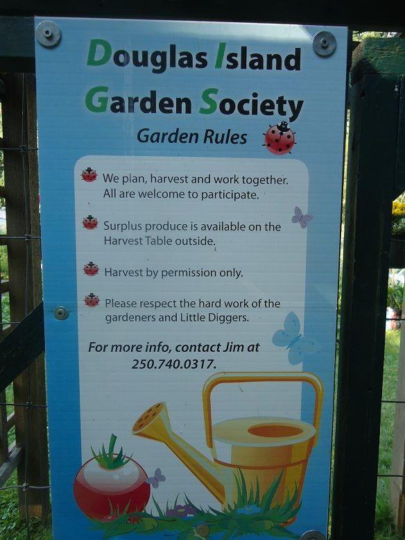 Community Garden No Picking Signs Google Search School