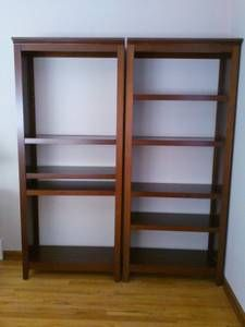 Chicago All For Sale By Owner Dark Brown Bookcases