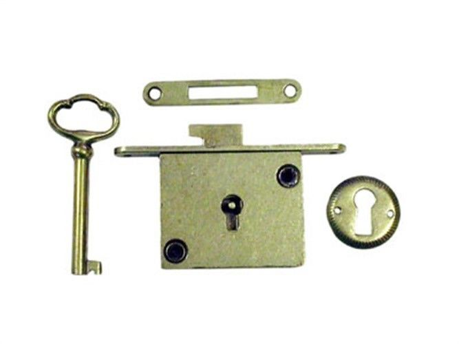 Chest Lock Full Mortise Partno 838403 By Compx National Display Cabinet Polished Brass Locks Cabinet